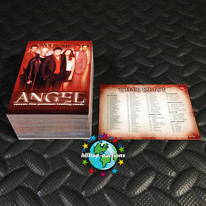 ANGEL SEASON 5 COMPLETE 90-CARD TRADING CARDS SET 2004 INKWORKS tv show buffy