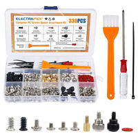 330PCS Computer Screw Standoffs Kit for Hard Drive Computer Case Motherboard