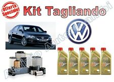 KIT TAGLIANDO VW PASSAT 2.0 TDI 103KW 140CV DAL 08/2010-> OLIO CASTROL + FILTRI*