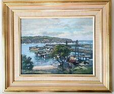 Original Pastel Painting, Will Eager, Australian Landscape, Coast