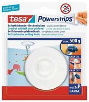 2 Pack tesa Powerstrips® 58029 Deckenhaken Klebehaken Deko