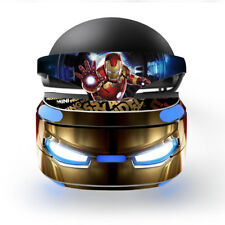 PS VR Virtual Reality Skin Sticker Decal Vinyl Protector IRON MAN MARVEL COMICS