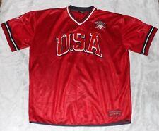 Vintage Fubu Athletics League Men's 2Xl Xxl 1992 Usa Jersey Shirt Rare