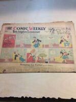 Sunday Comics Newspaper Section Los Angeles Examiner - OCT 28 1945