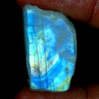 Best Price Natural Fire Rainbow Moonstone Rough Slab Cabochon Loose Gemstone