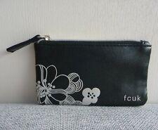 FCUK Black Makeup Cosmetics Bag / Coin Bag, Brand NEW!!