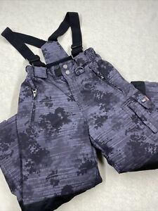 32 Degree Snow Pants Waterproof Winter Overall Bib Insulated Camouflage Size XS