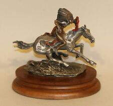 1989 Chilmark Fine Pewter Figurine Frederic Remington Warrior Horseback 641/950