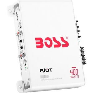 Boss Audio Mr1004 Marine Riot Weather Proof 400-watt Full Range, Class A/b 2 To