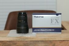 Tokina AT-X PRO 16-28mm f/2.8 SD MF FX Aspherical IF AF Lens For Canon