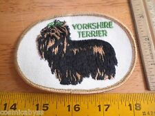 Yorkshire Terrier 1970's Vintage patch unused
