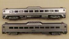 Athearn HO  Santa Fe RDC Rail Diesel Cars - Selling as pair one runs, one dummy
