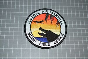 Federal Air Marshal Miami Florida Field Office Patch (B17-8)