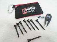 Ketel One Vodka Small Zippered Pouch with Peg Game