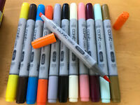 COPIC CIAO Too NEW *YOU CHOOSE* Twin Tip Marker Pens Many Colors Brush Sketch