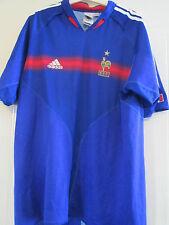 Francia 2004-2006 Hogar Camiseta De Fútbol Adulto Tamaño Grande L/40438