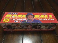1989 Fleer Baseball Factory Sealed Complete Set of 660 Trading Cards