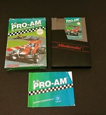 R.C. Pro-Am (Nintendo Entertainment System, 1988) NES Complete Box Manual Cart