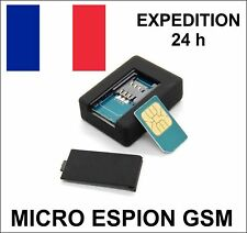 MICRO ESPION GSM  ECOUTE SANS FIL A DISTANCE DEPUIS VOTRE TÉLÉPHONE