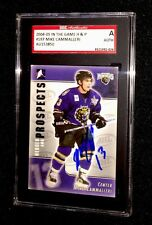 MIKE CAMMALLERI SIGNED 2004/05 HEROES AND PROSPECTS CARD #197 SGC AUTHENTICATED