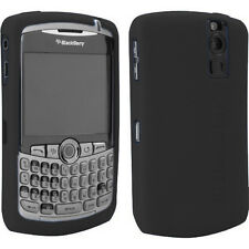 OEM Black Gel Skin Case Blackberry CURVE 8300/8320/8330 NEW Genuine