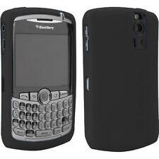 OEM Black Gel Skin Case Blackberry CURVE 8300/8320/8330 NEW Genuine