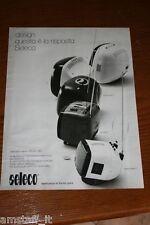 AS21=1972=SELECO TV PORTATILE TRASPORTATILE=PUBBLICITA'=ADVERTISING=WERBUNG=