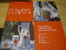 Ideas Books- Flowers Painting Book- Poppies, Rose, Amaryllis, Daisies, Dandelion