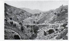OLMI CAPPELLA MONTAGNE CORSE CORSICA IMAGE 1924 OLD PRINT