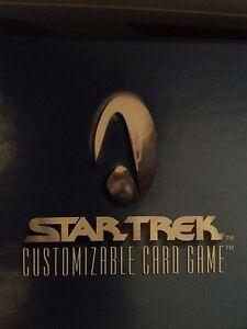 Star Trek CCG Premiere Starter Deck II 2-Player Set LOOSE BOX of 12 Starters NEW