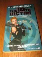 The 10th Victim (Victim #1) by Robert Sheckley - 1st Signet PB edition (1987)