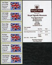 ROYAL SIGNALS MUSEUM BLANDFORD FLAG COLL SET POST & GO