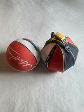 Tommy Hilfiger vintage basketball and ball bag multicoloured colorblock vtg
