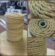 Hilo cuerda rafia ensillar 3 cabos 4mm bobinas de 800grs. Soga