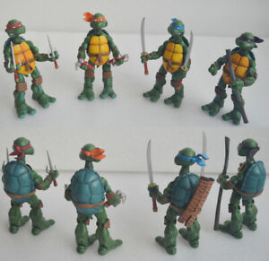 NECA TMNT Teenage Mutant Ninja Turtles Model Color Headband Action Figures Box