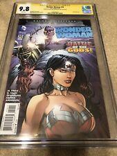 Wonder Woman 50 CGC 2X SS 9.8 Finch Justice League 2019 Kristen Wiig Movie