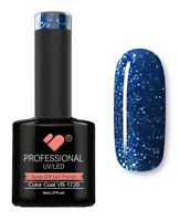 VB-1720 VB™ Line Blue Silver Lagoon Saturated - UV/LED soak off gel nail polish