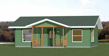 30x24 House -- 1 Bedroom 1 Bath -- 720 sq ft -- PDF Floor Plan -- Model 3B