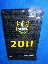 Collectable New NRL OFFICIAL 2011 COLLECTOR CARDS - PACK 9/15 RUGBY LEAGUE GR8s.