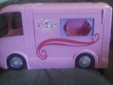 2008 Barbie Pink Glamour RV Camper Van Pop Out Tent Winnebago