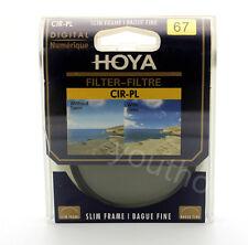 Hoya 67mm CPL CIR-PL Slim Circular Polarizing Digital Filter for Camera Lenses