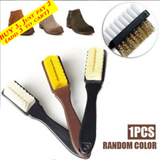 Cleaning Brush Kit For Suede Leather Nubuck Shoes Boot Cleaner Stain Dust Tool