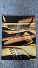 LINCOLN Mark VIII Town Car Continental USA American Market Brochure 1994 1995
