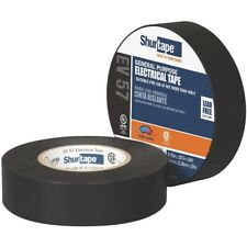 """New listing Shurtape - General Purpose Grade, Ul Listed, Black Electrical Tape (3/4"""" x 66')"""