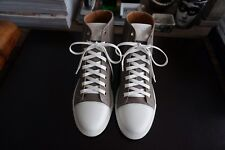Mens Authentic Marc Jacobs Hightop Leather Sneakers Size 41 NEW