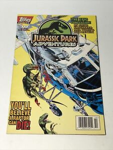 Topps Jurassic Park Adventures Rare Comic Book The Epic Conclusion Good Shape