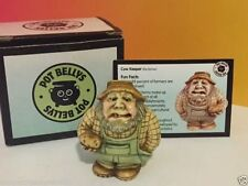 Harmony Kingdom Pot Bellys Figurine In Box Coa Cow Keeper Farmer 2001 Potato Vtg