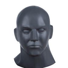 Bondage Men's Latex Head Hood Restraints Black