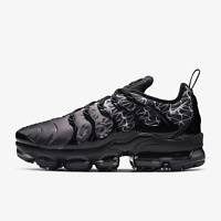 NIKE AIR VAPORMAX PLUS GEOMETRIC - BLACK / WHITE - 924453 017 - UK 9.5,10,11,12