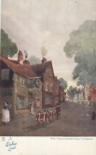 "TUCK :IN DICKENS LAND-The ""Leather Bottle "",Cobham-'Art' series 1164"